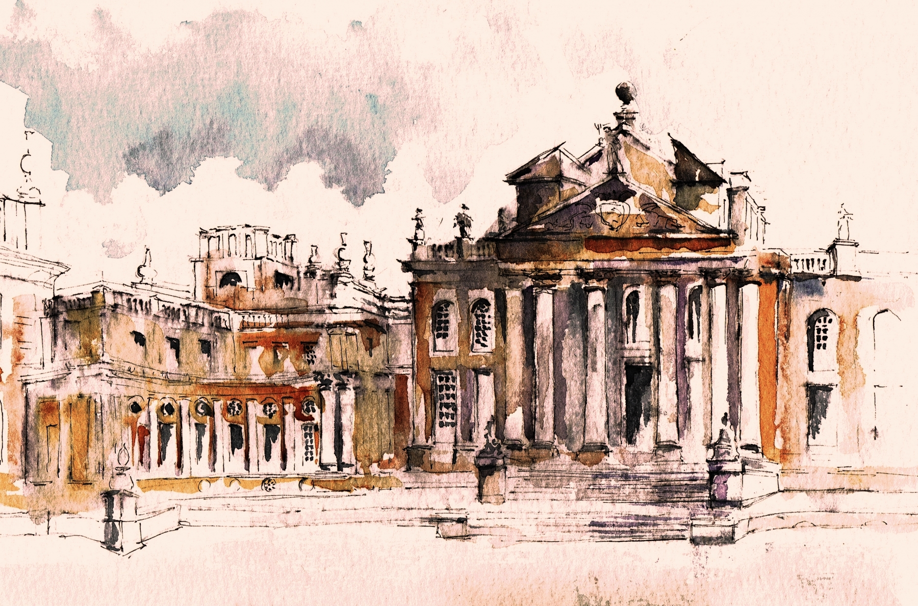 Blenheim-Palace-North-Front