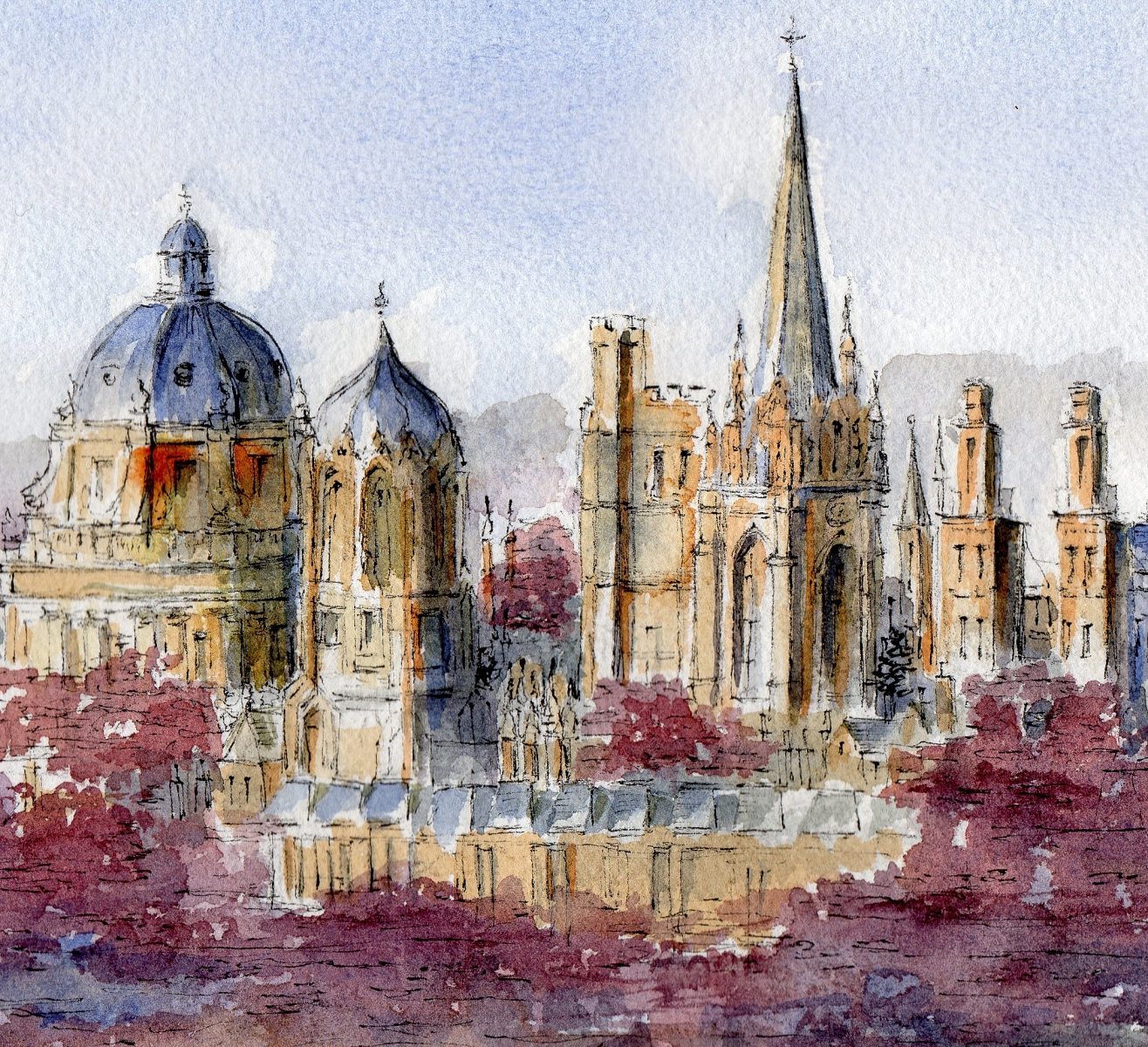 Oxford-skyline-Autumn