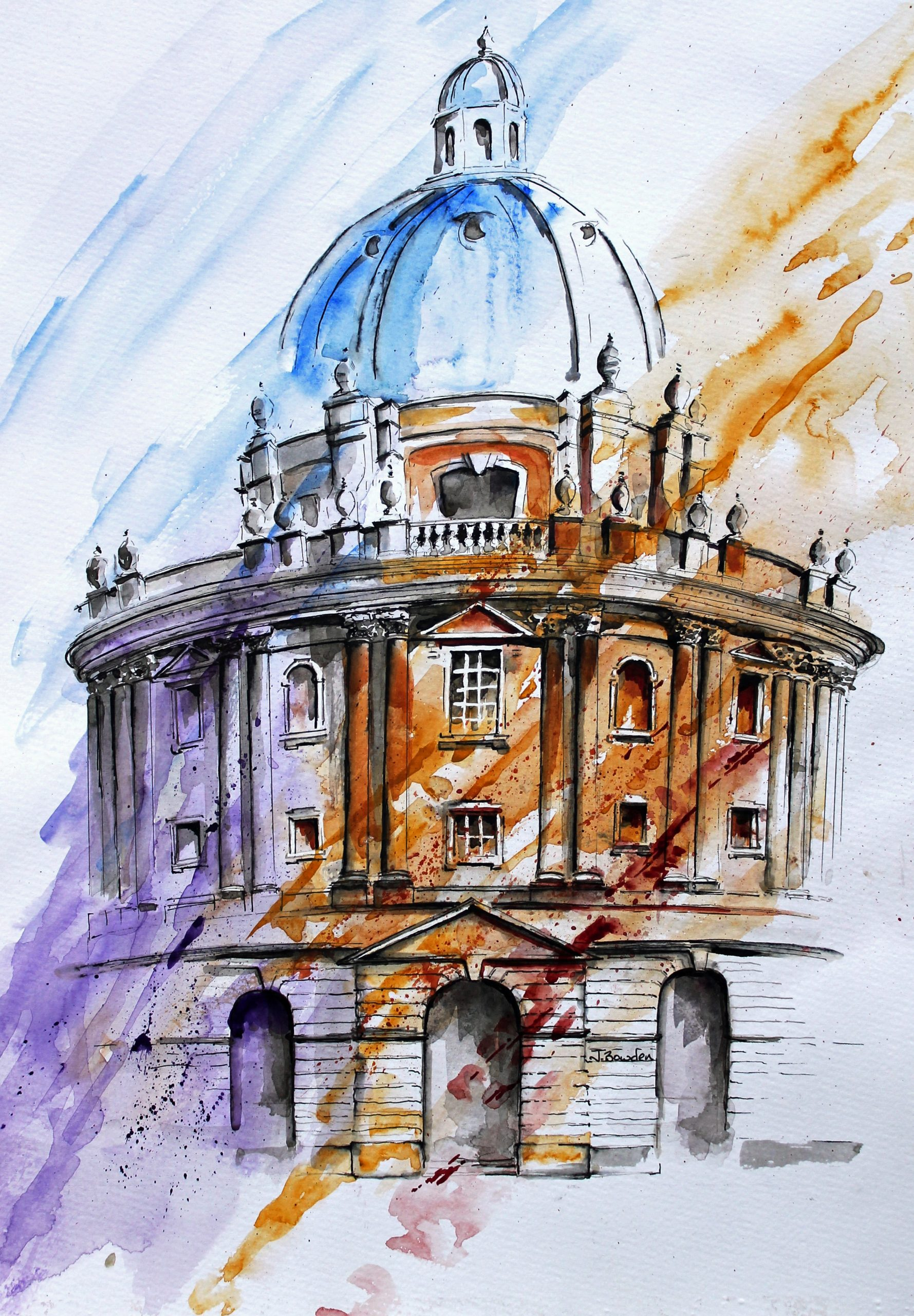 1012-The Radcliffe Camera Oxford