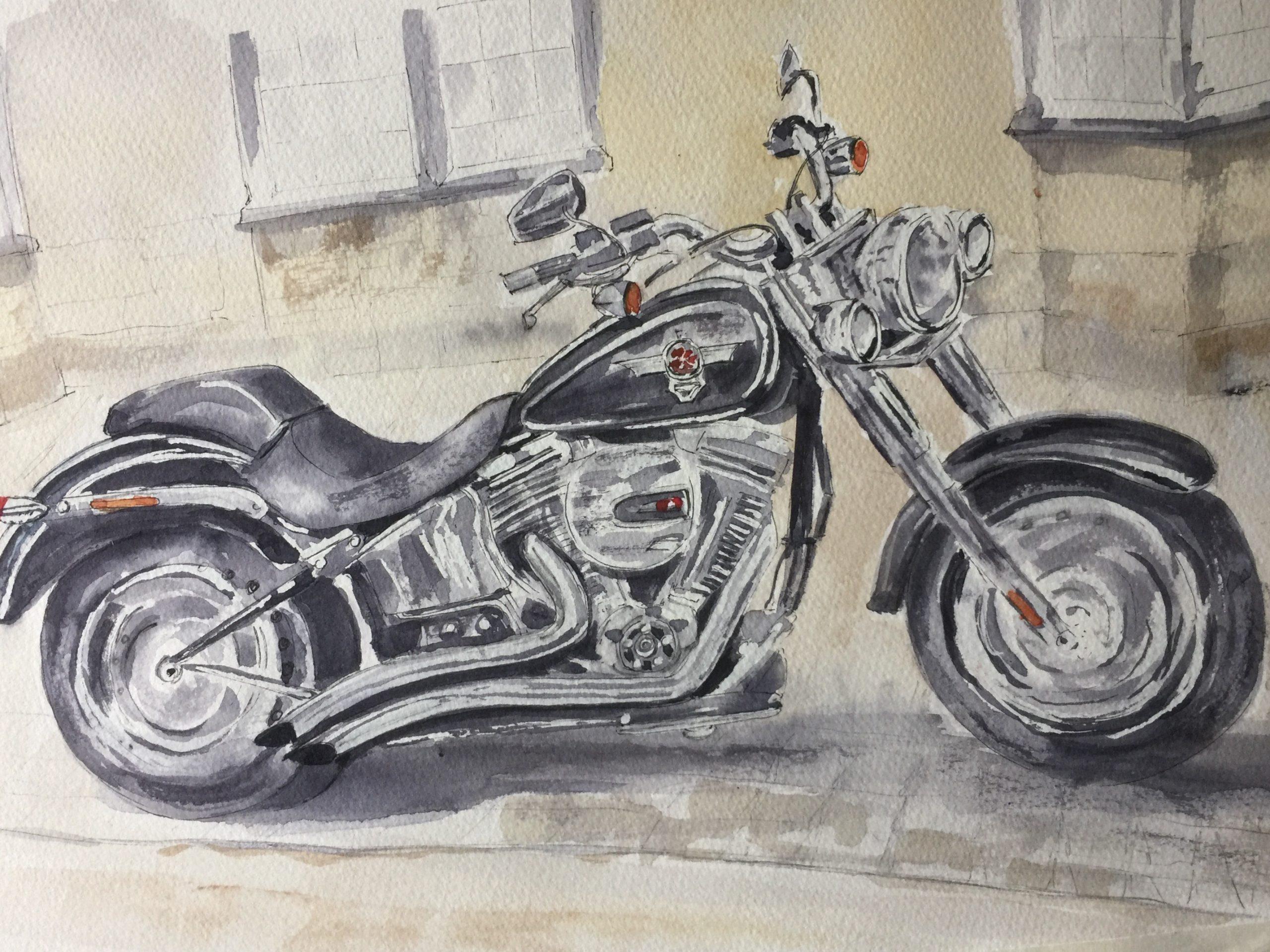 2021-Harley Fat Boy