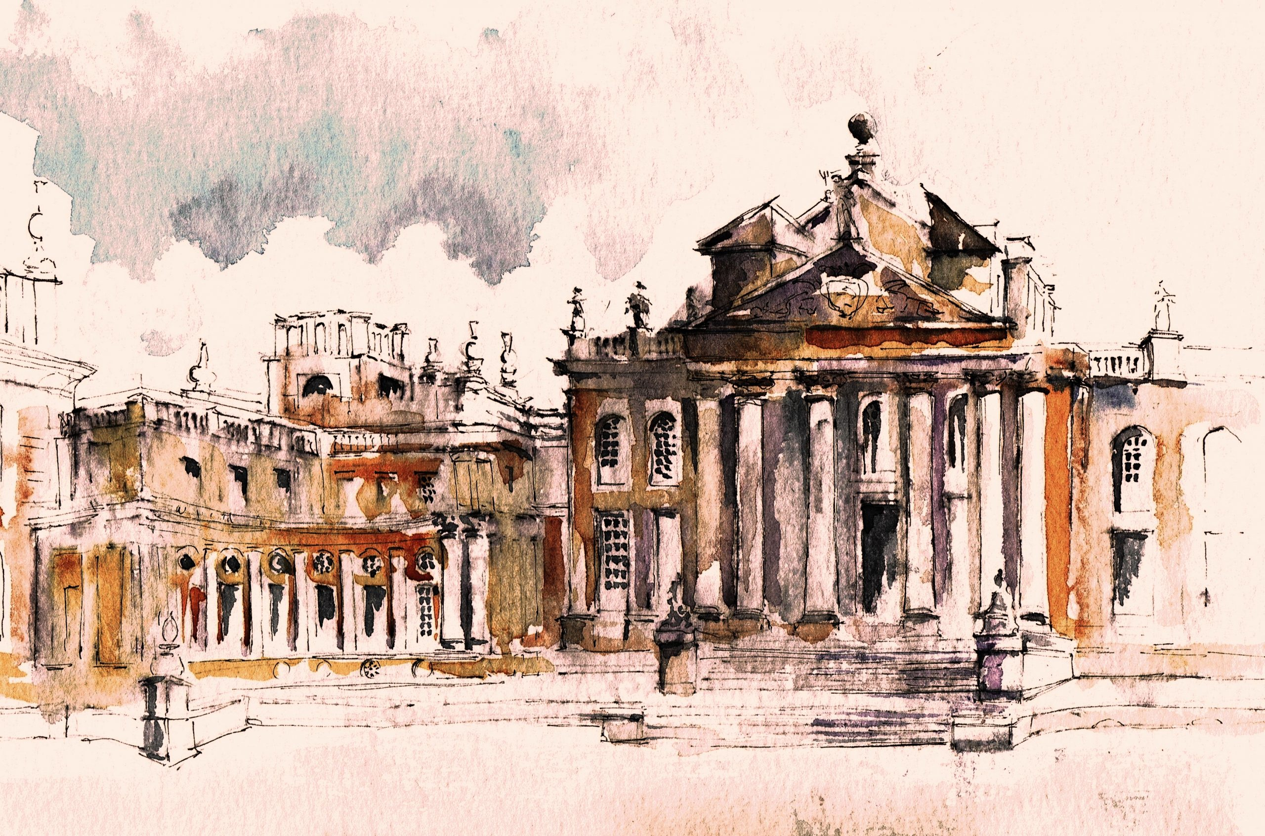 Blenheim Palace North Front