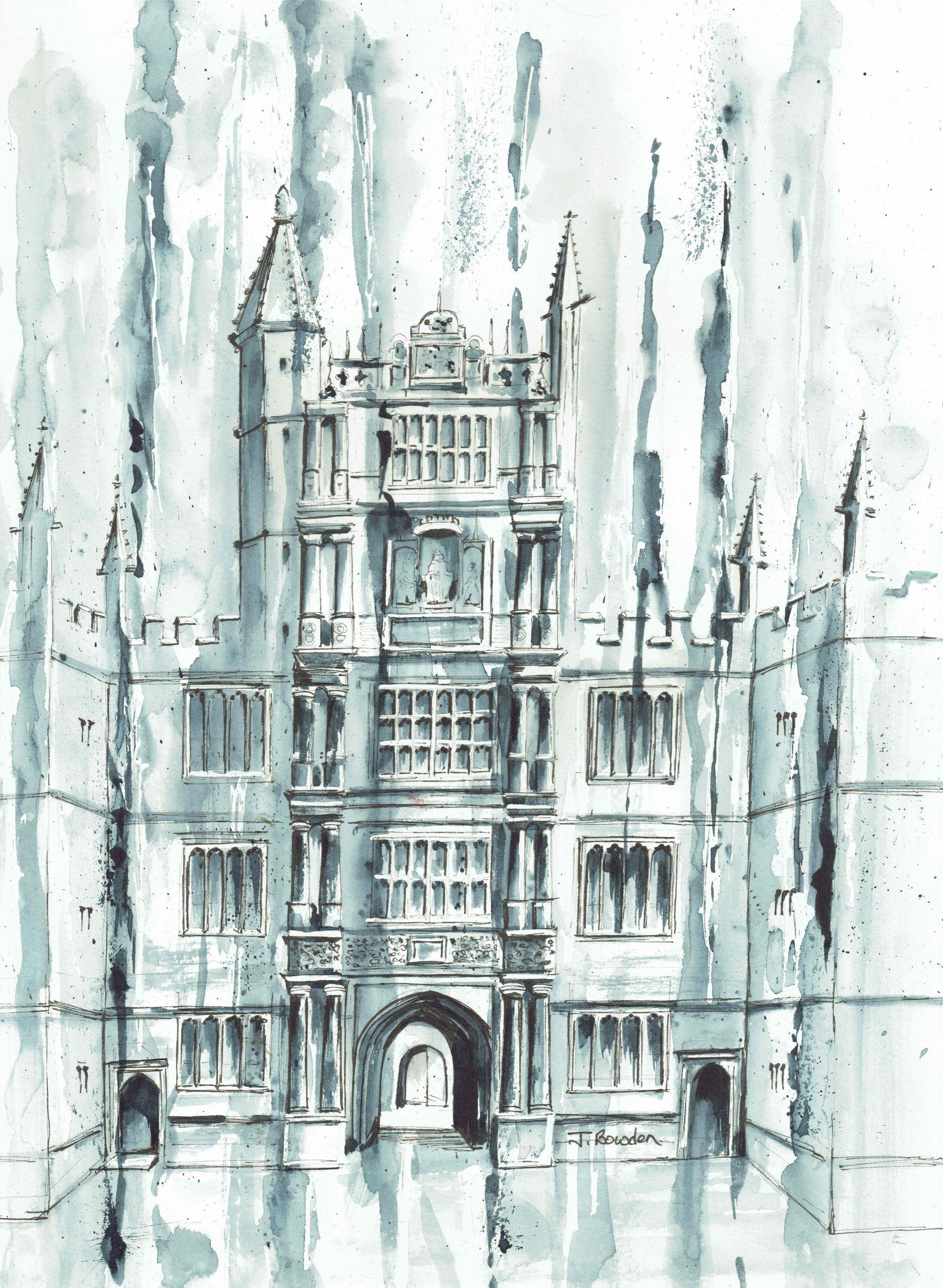 Bodleian-B+W-Abstract