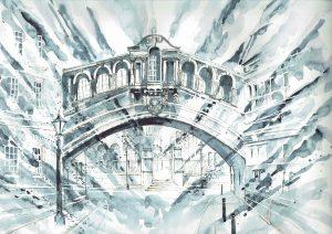 BridgeSighs-BW-Abstract