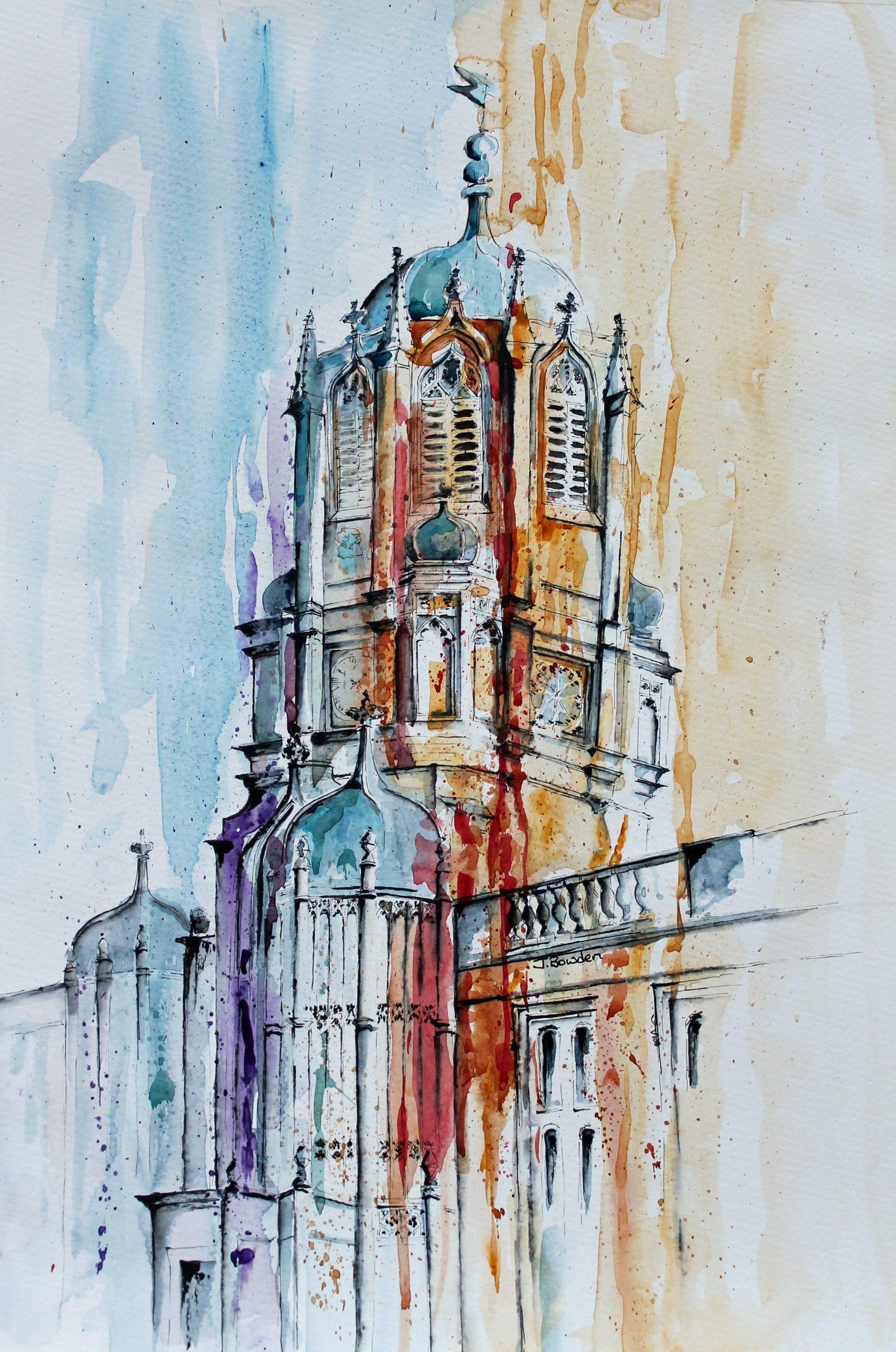 Tom Tower Christ Church College Oxford